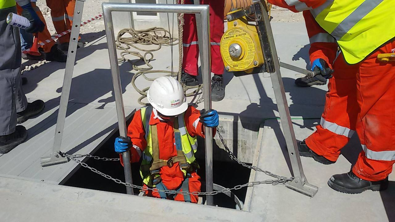 CONFINED SPACE REGULATED ENTRY - HSE VISION