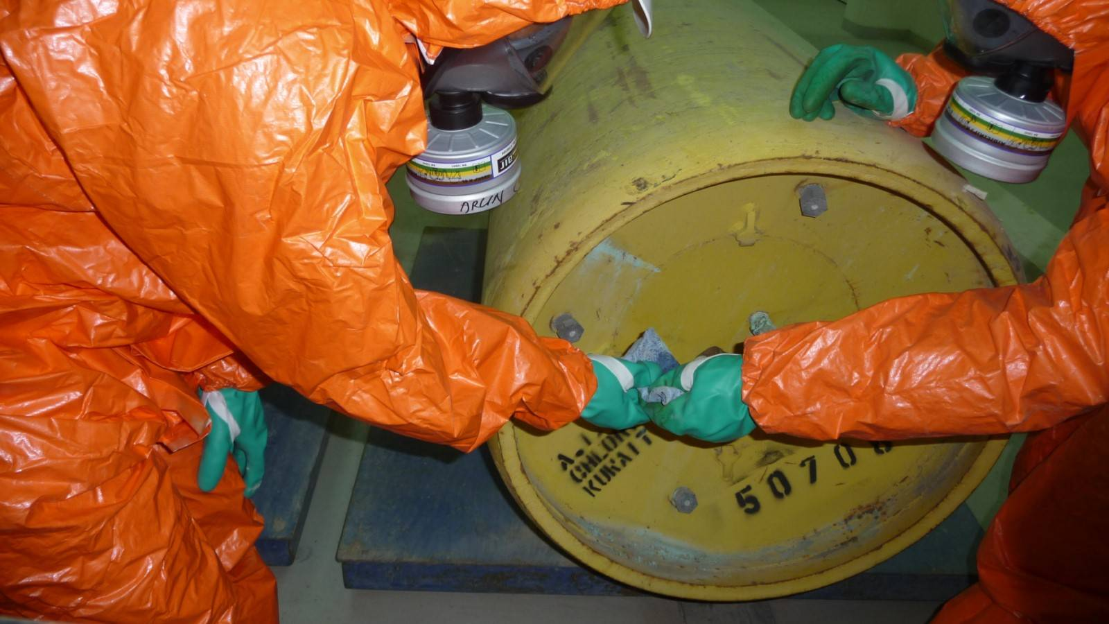 CHLORINE SAFETY Operation and Maintenance
